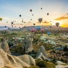 Festival de globos en el cielo de Cappadocia Turqua viajesequinoccio