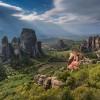 Los Monasterios de Meteora estn localizados al norte de Greciahellip