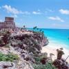 """Playa del Carmen es la cabecera del municipio de Solidaridad, Quintana Roo, localizado al sureste de México, y al sur de Cancún. Está dentro de la zona turística denominada """"Riviera Maya""""#viajesequinoccio✈ #México"""